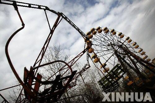 游客探险鬼城切尔诺贝利 核辐射仍对人体有害