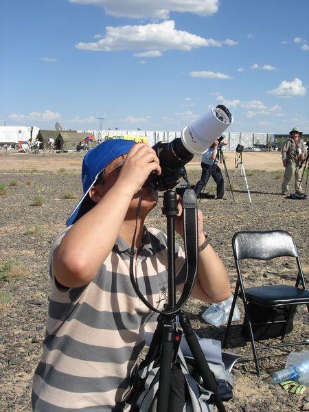 2008年8月1日新疆甘肃日全食