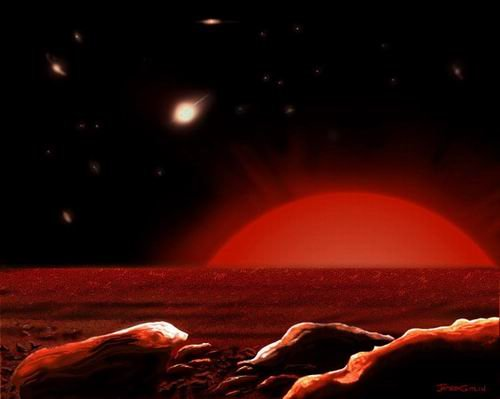 太阳末途之时地球和人类将何去何从(图)