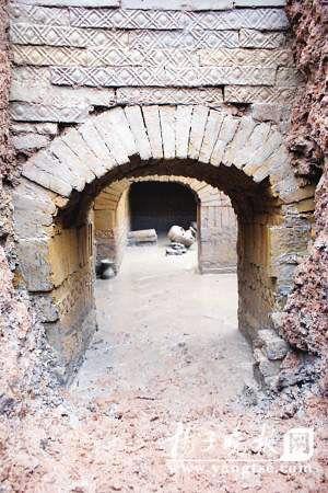 江苏宿迁挖出三国武将墓 墓中没有发现尸骨