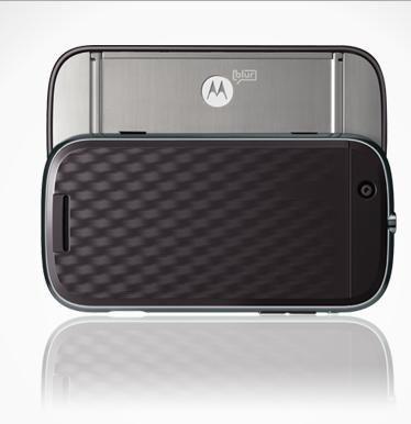 摩托罗拉发布其首款Android智能手机(图)