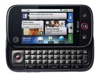 摩托罗拉发布其首款Android智能手机(组图)