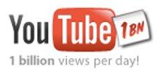 YouTube更新网站标识 宣布日访问量超10亿