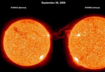 美国探测器首次数小时观测太阳日珥爆发