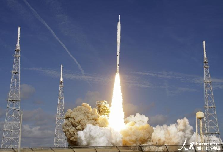 美国成功发射 战神 火箭