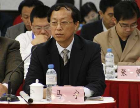 中国互联网协会新任秘书长马宁 (腾讯科技摄)