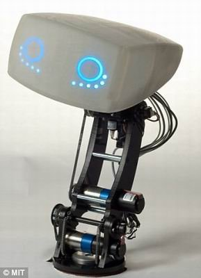 美设计情趣车载机器人 能够表达喜怒哀乐(图)