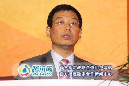 图文:中国互联网协会副理事长黄澄清致辞