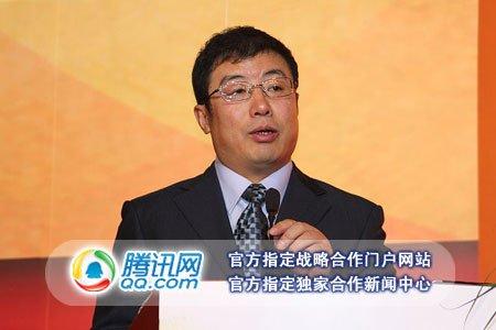 图文:奇虎360公司总裁齐向东演讲