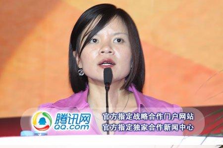 图文:土豆网副总裁黄惠雯