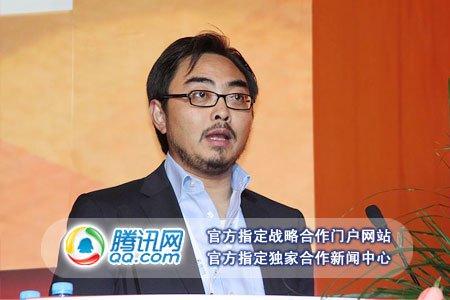 图文:启明创投董事总经理甘剑平演讲