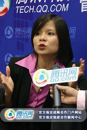 土豆副总裁黄蕙雯(腾讯科技摄)