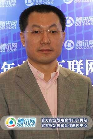 百度COO叶朋接受腾讯科技专访(腾讯科技摄)