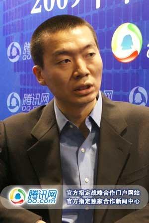 职酷网COO周宇鹏接受腾讯科技专访(腾讯科技摄)
