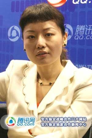 番薯网CEO赵舸与腾讯科技记者徐志斌合影(腾讯科技摄)