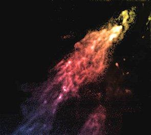 """天文学家发现受到暗物质""""保护""""的星云(图)"""