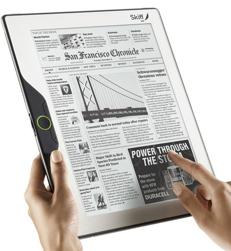 最大电子阅读器将亮相CES 配11.5英寸触摸屏