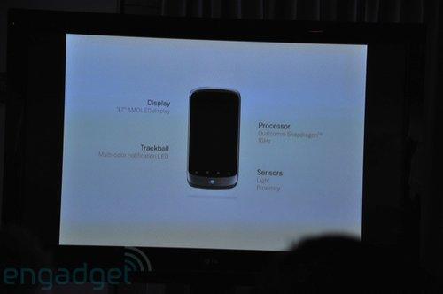 谷歌Nexus One手机发布会现场高清(组图)