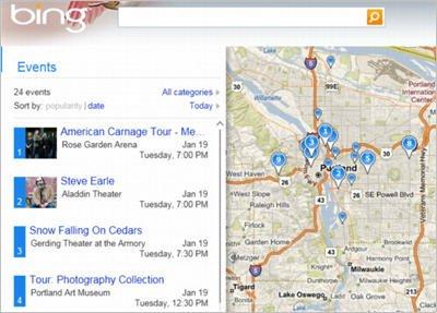 微软推出必应地图Silverlight正式版(图)