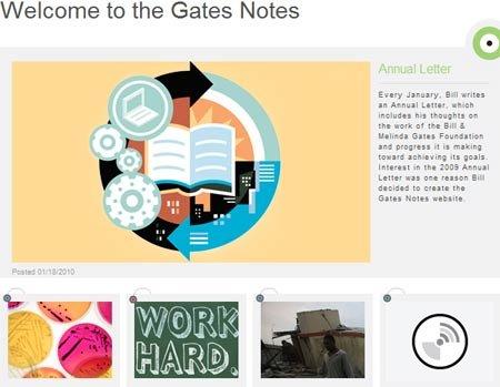 盖茨开通Gates Notes网站 集中表达个人观点