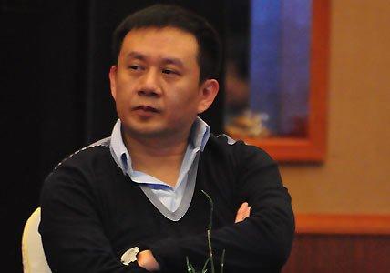 图文:嘉宾暴雨互动总裁朱威廉