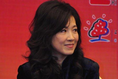 图文:嘉宾上海第九城市总裁陈晓薇