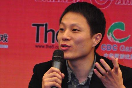 图文:嘉宾淘米网CEO汪海兵