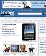 福布斯:iPad上市后谷歌获利