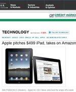 路透社:iPad是大号iPhone