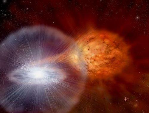 美业余天文爱好者观察到天蝎座U新星爆发(图)