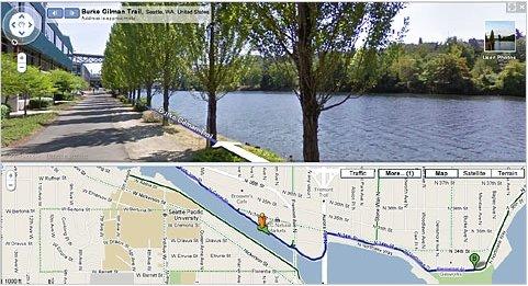 谷歌地图添加自行车路线 提供骑行线路(图)