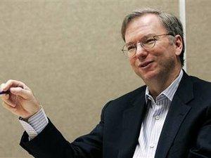 谷歌CEO施密特:移动计算将重塑互联网