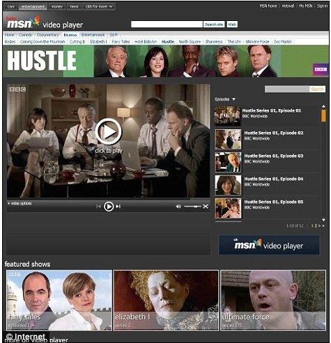 MSN在英推免费视频播放器 同BBC竞争(图)
