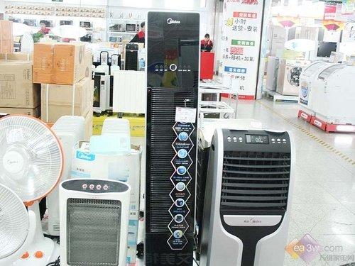 美的空调扇AD90-A推荐 LED手触屏设计