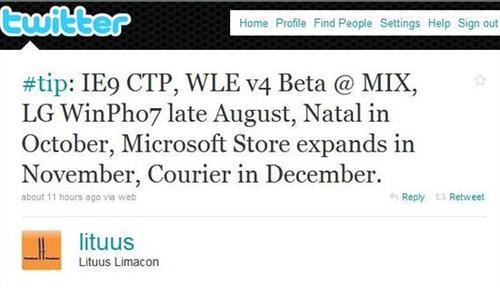 传微软将在MIX大会上发布IE9 CTP版本