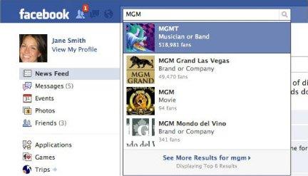 Facebook拟升级搜索服务 扩大所查信息相关性