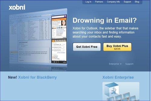 电邮服务商Xobni推出黑莓电子邮件应用(图)