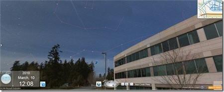 必应增全球望远镜功能 可观看星空地图(图)