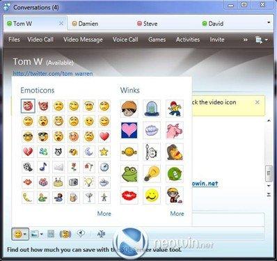 MSN 2010测试版截图泄露 增社交网络功能(图)