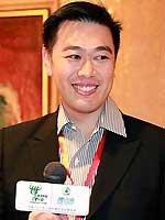 Bausch & Lomb 市场营销部地区副总裁 Adrian Toy