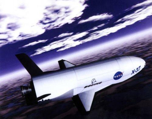 人类首架太空战斗机X-37B发射升空(图)