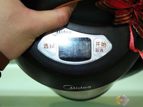 美的豆浆机DS15A11推荐 无网颇具冲击力