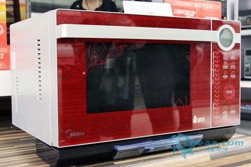 美的微波炉TH025LC7-BR破3千 虎年促销