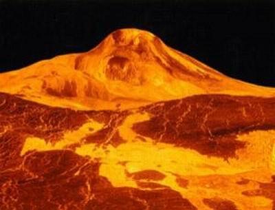 """金星处于""""暴躁""""状态 拥有太阳系最大火山"""