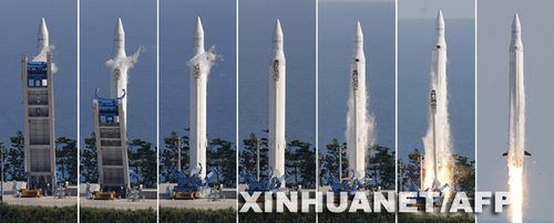 """韩国预定于6月再次发射""""罗老""""号运载火箭"""