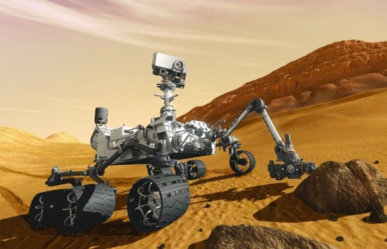 """揭秘""""好奇""""号火星车:车长3米可发射激光"""