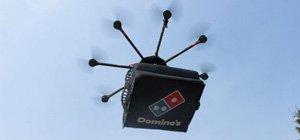 国外披萨店尝试用无人机送餐 未来将拓展至多国