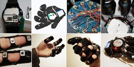 美设计师推出Glove One手机 佩戴如手套(图)