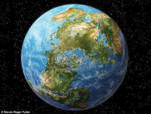 科学家预测称2.5亿年后地球形成一个超大陆