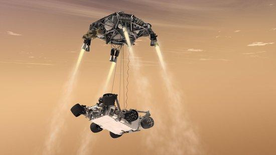 """""""好奇""""号将登陆火星 需经历""""恐怖7分钟"""""""
